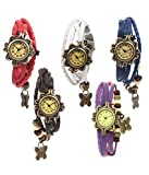 #10: Shree Analogue Blue, Red, White, Brown And Purple Dial Girls Watch-Sh-1108990-Piit
