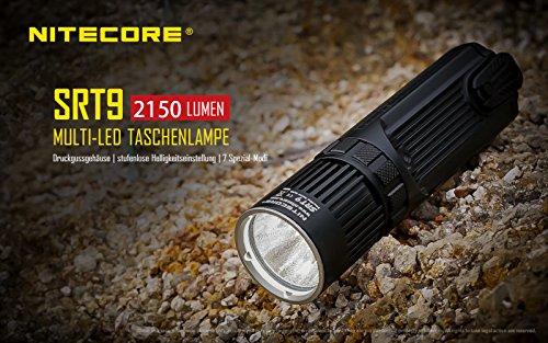 Nitecore SRT9 Taktische Taschenlampe - 2