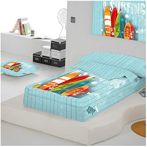 COTTON ARTean Saco nordico Relleno Wave Cama 90 x