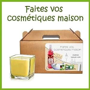 Bougie sensuelle à l'huile essentielle d'Ylang Ylang & cire d'abeille - MyCosmetik