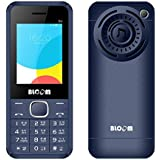 "Bloom DJ Phone With Digital Camera, 6.1cm (2.4"") QVGA Display, Dual Sim (GSM+GSM) Dual Standby, Memory Card Support, Bluetooth, Mp3 & Mp4 Player , LED Flash Light, Wireless Fm Radio, Video Recording And Playback, Gprs, 3.5 Mm Music Jack (Blue)"
