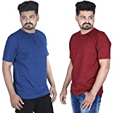 Best Shirts For 4 People - FABIOUS Half Sleeve Grindle Henley T-Shirt for Men Review