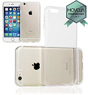 Movoja TPU Hülle kompatibel mit iPhone 6 6S | PERFEKTE Passform | Case Schutzhülle Silikon Crystal Case Transparent Durchsichtig (B00L01DQL8) | Amazon price tracker / tracking, Amazon price history charts, Amazon price watches, Amazon price drop alerts