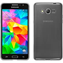 PhoneNatic Case - Funda con protector de pantalla para móvil Samsung Galaxy Grand Prime, transparente