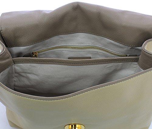 Navegar Salida COCCINELLE LIYA DOUBLE HANDLE BAG BD0180101 BEIGE/TAUPE Descuentos En El Precio Barato En Italia RvKHIjPrPw