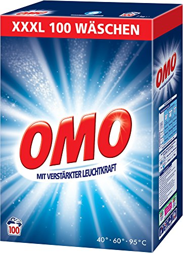 Omo Pulver Vollwaschmittel 100 WL, 7000 g
