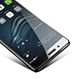 Huawei P9 Lite Pellicola Protettiva,Coolreall®9H Durezza Ultra Resistente Pellicola Vetro Temperato per Huawei P9 Lite (0,33mm HD Alta trasparente)