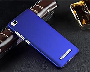 TCA Matte Xiaomi Mi 4i Mi4i Rubberized Finish Hard Case - Blue + Eject Pin