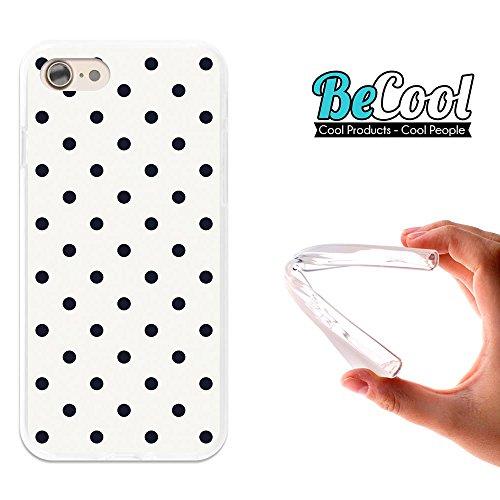 BeCool®- Coque Etui Housse en GEL Flex Silicone TPU Iphone 8, Carcasse TPU fabriquée avec la meilleure Silicone, protège et s'adapte a la perfection a ton Smartphone et avec notre design exclusif. You D1103