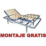 Cama Articulada + Patas Regulables / MONTAJE GRATIS (105_x_190_cm)