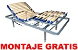 Cama Articulada + Patas Regulables / MONTAJE GRATIS