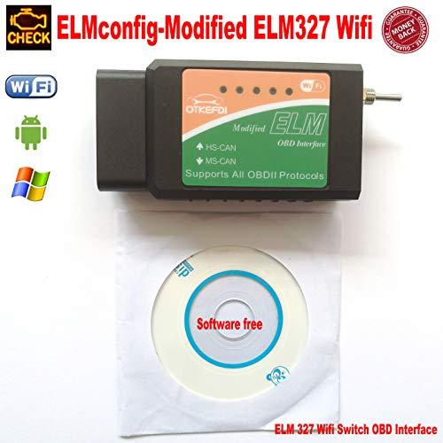 OTKEFDI ELM327 Wifi,Forscan Modified ELM 327 Wifi Switch