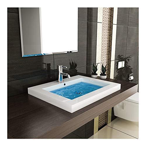 Modern Badezimmer - Hochglanz Waschbecken