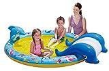 Banzai 01428 - Slide N' Splash Whale Pool Kinderpool Wal
