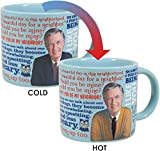 Best The Unemployed Philosophers Guild Hot Mugs - Mister Rogers Heat Changing Coffee Mug - Add Review