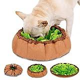 LIVACASA Sniffing Tappeto per Cani Dogs Snuffle Mat Giocattolo di Intelligenza Verde