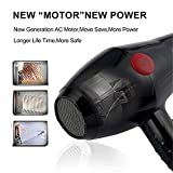 StyleHouse Professional Hair Dryer 2000 Watt with Hot and Cold Air (Model No. 2800) for Women and Men with Charcoal Face Mask