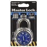 Master Lock 1503EURD Cadenas à combinaison fixe 48 mm  - Coloris aléatoire