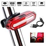 LED Fahrradrücklicht Fahrradbeleuchtung, Icesnail USB...