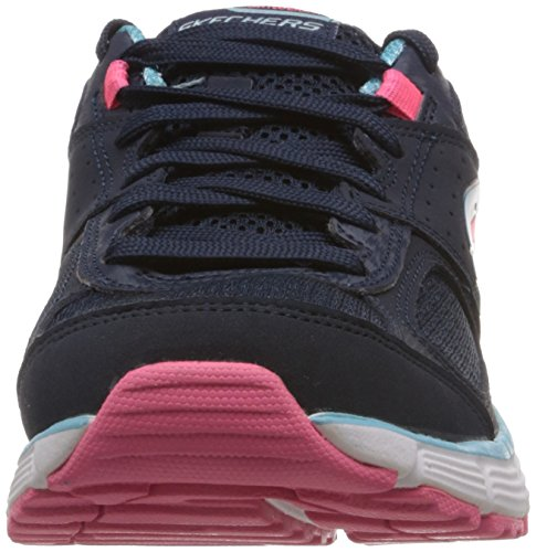 Skechers AgilityPerfect Fit   Sneakers da donna Blu (Bleu (Navy/Turquoise))