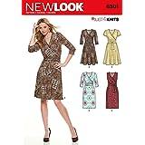 New Look NL6301 Patron de Couture Robe Portefeuille 22 x 15 cm