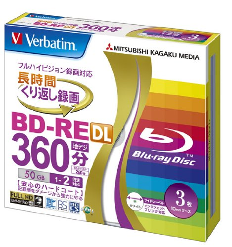 verbatim-mitsubishi-50gb-2x-speed-bd-re-blu-ray-re-writable-disk-3-pack-ink-jet-printable-each-disk-