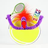 Pop Up Geburtstag ZZ Design Grußkarte PopShot Happy Birthday Tennis 16x16cm