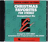 Christmas Favorites - CD Accompaniment Essential Elements for Strings