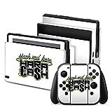 Nintendo Switch Folie Skin Sticker aus Vinyl-Folie Aufkleber Elotrix Fanartikel Merchandise Haracash
