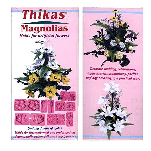 Thikas Magnolias Förmchen für Thermoformen, 7 Stück