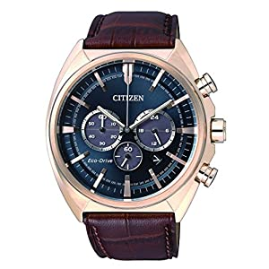 Citizen de Hombre Reloj de Pulsera Cronógrafo Cuarzo Piel ca4283–04L