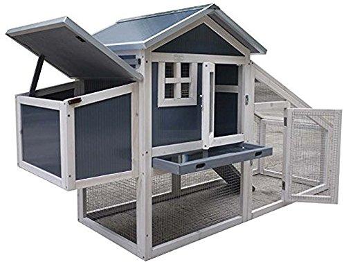 Hühnerhaus - NCH10 Kunststoff und Holz