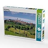 San Gimignano 1000 Teile Puzzle quer (CALVENDO Orte)