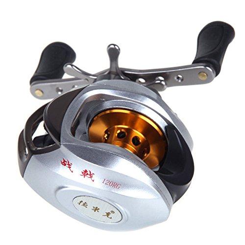 moulinet de peche - Generique 10BB roulements a billes 6.3: 1 main droite Baitcasting poisson Moulinet a grande vitesse au Royaume-Uni