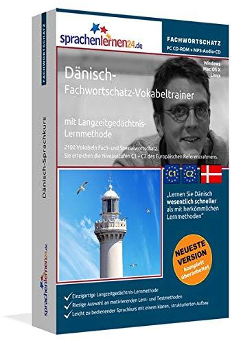 Dänisch-Fachwortschatz-Vokabeltrainer mit Langzeitgedächtnis-Lernmethode von Sprachenlernen24:...