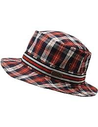 No Fear Hombre De Cuadros Bucket Sombrero Verano Gorra Headwear Accesorios