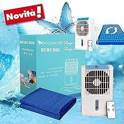 alfombrilla colchón cuna Refrescante refrigerante con bomba de agua y ventilador Ionizador