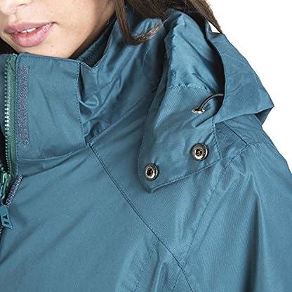 Trespass Alissa II Womens Waterproof 3 in 1 Jacket with Hood 7
