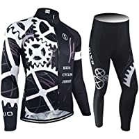 43bef4024 BXIO Jerseys de Ciclismo de Invierno Pro Racing Ropa de Bicicleta Otoño  Manga Larga Uniformes De