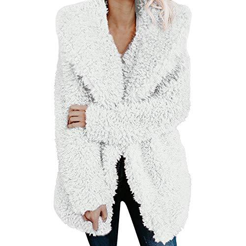Uomogo cappotto di pelliccia, nvernale giacca lungo cappotto cappotti giacca outwear di pelliccia sintetica da donna caldo faux fur cappotto giacca invernale parka outerwear giacche