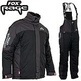 Fox Rage Winter Suit - Thermoanzug für Angler, Winteranzug für Raubfischangler, Schneeanzug zum Angeln bei kalten Temperaturen, Größe:XXL