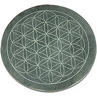 """Energieteller """"Blume des Lebens"""" (Durchmesser 10 cm) aus Speckstein preisvergleich bei billige-tabletten.eu"""
