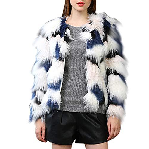 Tonsee  Manteau Femme, Nouvelle Mode Hiver Chaud Épaisse Manteau Survêtement Veste en Fausse Fourrure Parka Outwear Cardigan