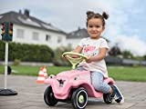 BIG 800056110 - Bobby-Car-Classic Flower Kinderfahrzeug, rosa von BIG