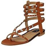 By Malene Birger MATIANA Shoe Q34783001, Damen Sandalen/Fashion-Sandalen, braun, (Caramel 17A), EU 40