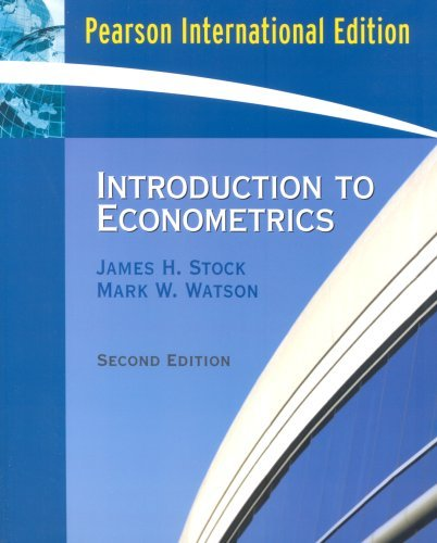 Introduction to Econometrics by James H. Stock (2006-03-15)