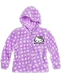 Hello Kitty Mädchen Coral Fleece Jacke - violett
