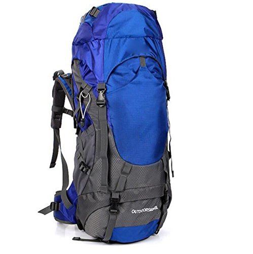 Borsa Ultra Lightweight E Waterproof Nylon Handy Backpack Borsa Escursioni Dayback Bags,Red Blue