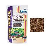 Hikari Tropical Micro Pellets - Mangime a lento affondamento in micro granuli per caracidi, ciprinidi e altri pesci tropicali a bocca piccola