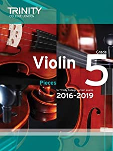 Violin Exam Pieces Grade 5 2016-2019 (Score & Part)